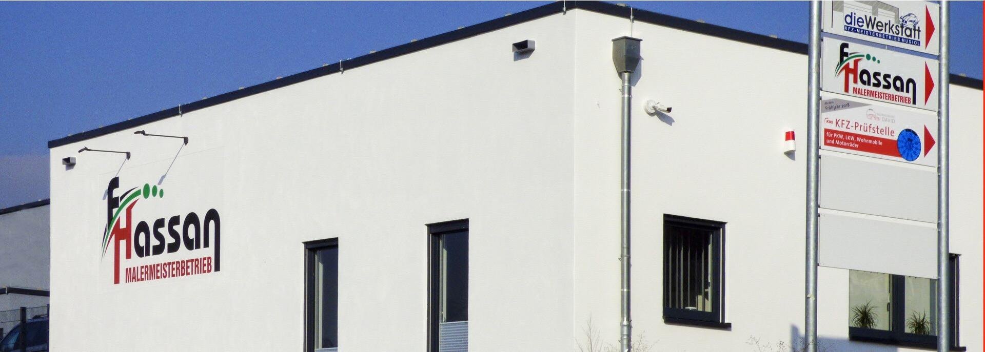 Gebäude F.Hassan, Lahnstein